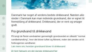 Grundvand til drikkevand